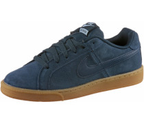 WMNS COURT ROYALE SUEDE Sneaker Damen, ARMORY NAVY/ARMORY NAVY-GUM LIGHT BROWN