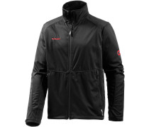 Ortler Advanced Softshelljacke Herren, schwarz