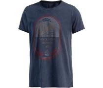 Throwback T-Shirt Herren, blau