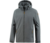 Trevor Softshelljacke Herren, lead grey