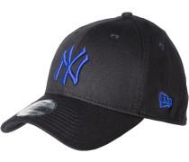 MLB Black Base Cap, black/light royal