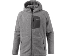 Caribou Lodge Strickfleece Herren, grau