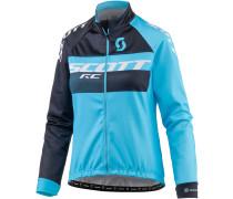 Fahrradjacke Damen, blau/blau