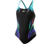 X Placement Digital Powerback Schwimmanzug Damen, Bunt