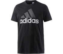 Ess Linear T-Shirt Herren, schwarz