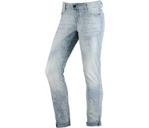 Saskia Skinny Fit Jeans Damen, light blue denim