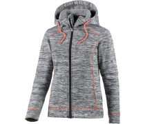 Fleecejacke Damen, grau
