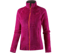Monkey Fleecejacke Damen, rosa