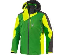 Vyper Skijacke Herren, grün/lime/anthrazit