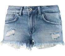Jeansshorts Damen, sunnburn wash