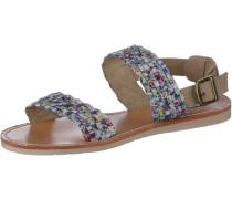 Sandalen Damen, mehrfarbig