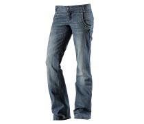 Straight Fit Jeans Damen, blau
