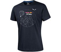 Redbull X-Alps Co Printshirt Herren, night black