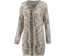 Rawoce Strickjacke Damen, grau/camouflage