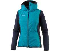 Aenergy IN Hybrid Fleecejacke Damen, aqua-marine