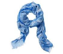 Schal Damen, blau