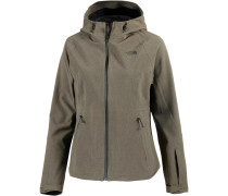 Apex Flex GTX Softshelljacke Damen, NEW TAUPE GREEN HEATHER