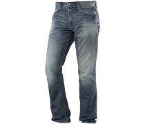 Marvin Straight Fit Jeans Herren, blau