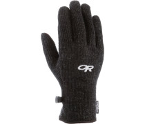 Flurry Sensor Fingerhandschuhe Damen, schwarz
