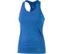 Dri-Fit Knit Tanktop Damen, blau