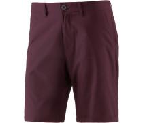 Golfer Chambray Shorts Herren, rot