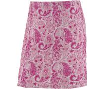Minirock Damen, pink/grau mélange