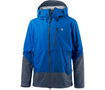 Superforma Hardshelljacke Herren, altitude blue/zinc