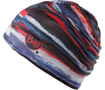 Microfiber & Polar Hat Beanie, Flat Brush Multi