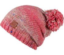 Dryn Hat Bommelmütze, rosa