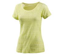 T-Shirt Damen, gelb