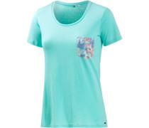 Tera T-Shirt Damen, türkis