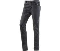 NeelaTZ Skinny Fit Jeans Damen, grau