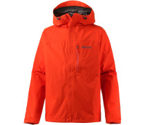Minimalist Funktionsjacke Herren, orange