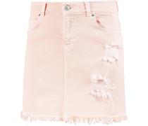 Jeansrock Damen, ashy pink wash