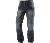 EliazTZ Straight Fit Jeans Herren, blau