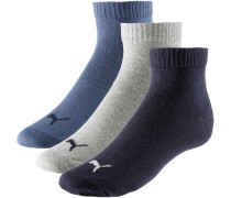 Quarter Socken Pack, navy-grey-nightshadow blue