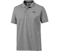 Essential Poloshirt Herren, grau