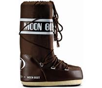 Moon Boot Nylon Winterschuhe, braun
