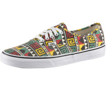 Authentic Sneaker, schwarz/rasta