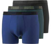 Boxer Herren, schwarz/dunkelgrün/blau
