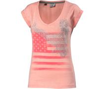Printshirt Damen, rosa