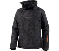 Windbreaker Herren, BLACK CAMO