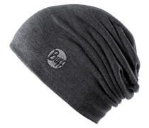 Merino Wool Thermal Hat Beanie, grau