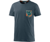 Arco Pocket T-Shirt Herren, blau