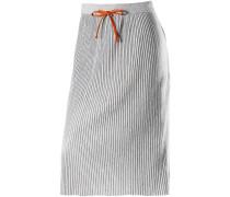 Faltenrock Damen, light silver grey