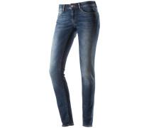 Serena Skinny Fit Jeans Damen, blau