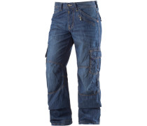 Benito Loose Fit Jeans Herren, blue washed