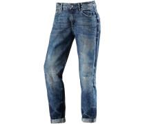 Midge Low Boyfriend Jeans Damen, blau