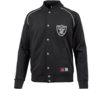 Oakland Raiders Collegejacke Herren, schwarz
