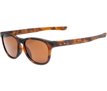Stringer Sonnenbrille, matte brown tort, dark bronze